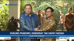 Dukung Prabowo, Demokrat tak Dapat Faedah