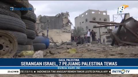 Tujuh Pejuang Palestina Tewas dalam Serangan Udara Israel