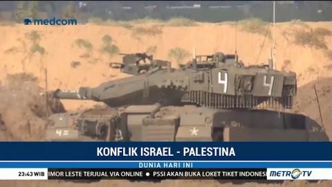 Israel Perketat Pengamanan di Perbatasan Gaza