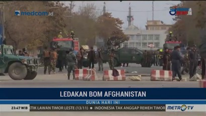 Tiga Orang Tewas dalam Ledakan Besar di Kabul