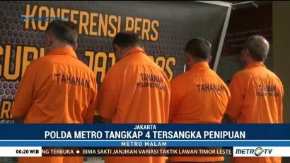 Polisi Tangkap 4 Penipu Ratna Sarumpaet