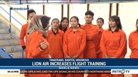 Lion Air Increases Flight Training