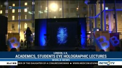 Academics, Students Eye Holographic Lectures
