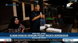 Caleg Elman Saragih Temui Pegiat Wisata Borobudur