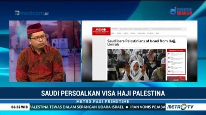 Arab Saudi Persoalkan Visa Haji Palestina