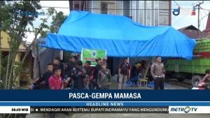 Dapur Umum Didirikan untuk Pengungsi Gempa Mamasa