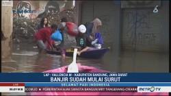 Banjir di Kabupaten Bandung Mulai Surut