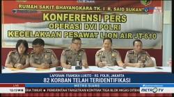 Total 82 Korban Lion Air Telah Teridentifikasi