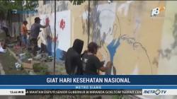 Lomba Mural & Facial Massal Digelar untuk Peringati Hari Kesehatan