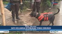 Anjing Pelacak Dikerahkan untuk Buru Pelaku Pembunuhan Keluarga di Bekasi