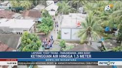 Ketinggian Banjir di Pangandaran Capai 1,5 Meter
