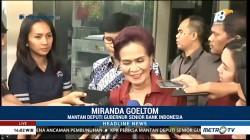 Eks Gubernur BI Miranda Goeltom Penuhi Panggilan KPK