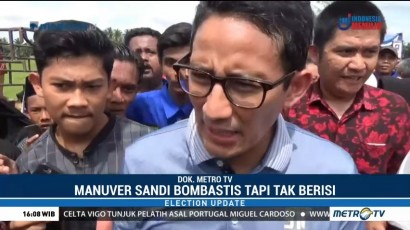 Janji Manis Kursi Menteri dari Sandi