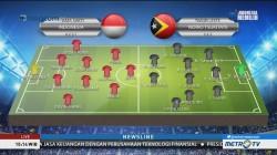 Tanpa Putu Gede, Ini Formasi Indonesia vs Timor Leste