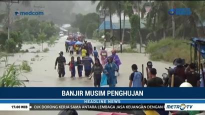 Enam Orang Tewas dalam Banjir di Nias