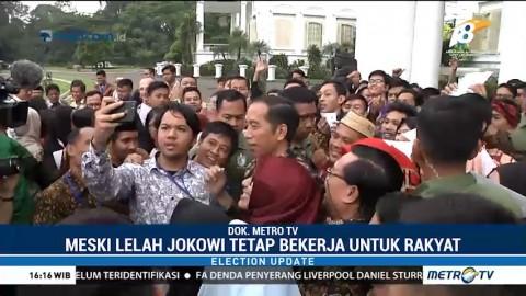 Meski Lelah, Jokowi Tetap Bekerja untuk Rakyat