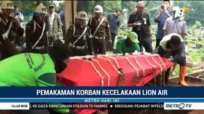 Jenazah Shandy Johan Korban Lion Air Dimakamkan di TPU Kebon Nanas
