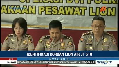 Total 85 Korban Lion Air Telah Teridentifikasi