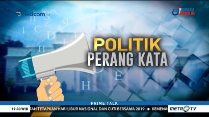 Politik Perang Kata Jelang Pilpres