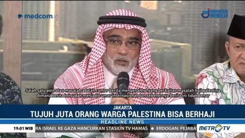 Dubes Arab Saudi Tepis Kabar Larangan Berhaji Warga Palestina