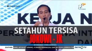 Setahun Tersisa Jokowi-JK (1)