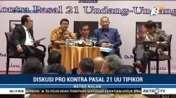 Peradi Gelar Diskusi Pro Kontra Pasal 21 UU Tipikor