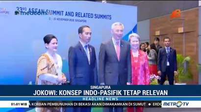 Jokowi Bahas Konsep Indo-Pasifik di KTT ke-33 ASEAN