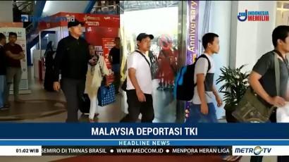 59 TKI Bermasalah Dideportasi dari Malaysia