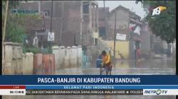 Banjir Mulai Surut, Jalan di Kabupaten Bandung Bisa Dilalui Kendaraan