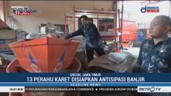 Antisipasi Banjir, BPBD Gresik Siapkan 13 Perahu