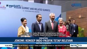 KTT ASEAN ke-33, Presiden Jokowi: Konsep Indo-Pasifik Tetap Relevan