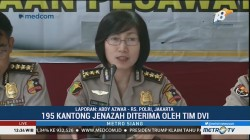 Sudah 195 Kantong Jenazah Korban Lion Air Tiba di RS Polri