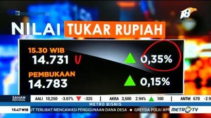 IHSG & Rupiah Kompak Menguat