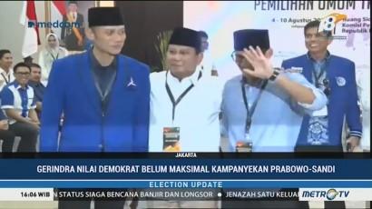 Gerindra Tagih Janji Demokrat Kampanyekan Prabowo-Sandi