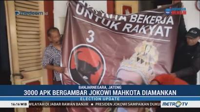 PDIP Tertibkan Poster 'Raja Jokowi'