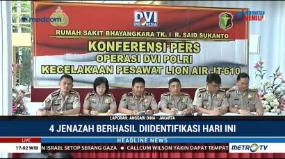 Total 89 Korban Lion Air Telah Teridentifikasi