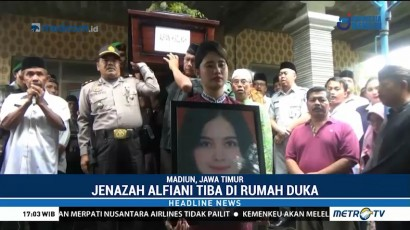 Jenazah Alfiani Hidayatul Korban Lion Air Tiba di Rumah Duka