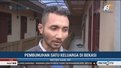 Kesaksian Tetangga Korban Pembunuhan di Bekasi
