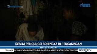 Derita Pengungsi Rohingnya di Pengasingan