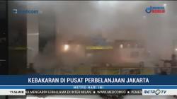 Kedai Makanan Jepang di Jakarta Utara Terbakar
