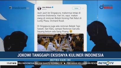 Bahas Eksistensi Kuliner Indonesia di Luar Negeri, Jokowi Sindir Usaha Kaesang
