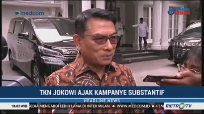Tim Kampanye Jokowi Ajak Prabowo-Sandi Kampanye Substantif