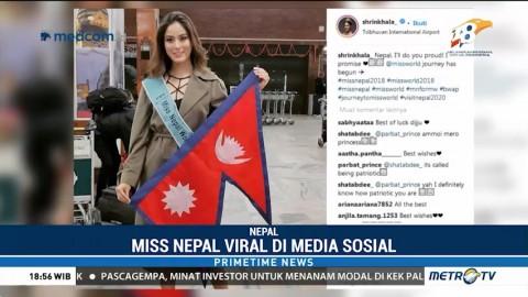 Miss Nepal Menjadi Favorit di Ajang Miss World 2018