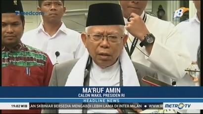 Ma'ruf Amin Bantah Singgung Kaum Disabilitas