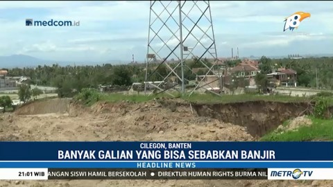 Banyak Tambang Pasir di Cilegon Dikhawatirkan Dapat Merusak Lingkungan