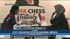 Medina Warda Unggul Atas Filipina di JAPFA Chess Festival 2018