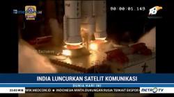 India Luncurkan Satelit Komunikasi