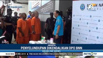 DPO Kasus Narkoba Ditangkap, BNN Sita 30 Ribu Ekstasi dan 38 Kg Sabu