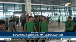 Timnas Indonesia Bertolak ke Thailand