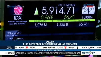 IHSG Mengawali Perdagangan di Teritori Positif
